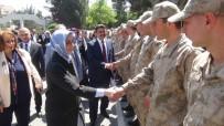 SİVİL ŞEHİT - AK Parti Kadın Kolları Başkanı Çam'dan Mehmetçiğe Ziyaret
