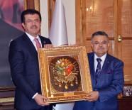 Bakan Zeybekci'den Başkan Yağcı'ya Özgü Dolu Sözler
