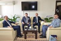 Başkan Bakıcı Bilecik'e Yeni Atanan İl Müdürlerini Ziyaret Etti