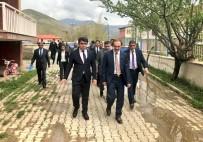 Başkan Epcim'den Kredi Yurtlar Kurumuna Ziyaret