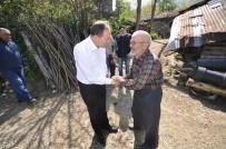 Başkan Kaya, Çalışmaları İnceleyerek Vatandaşın Kandilini Kutladı