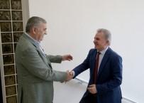 Başkan Toçoğlu, YÖK Kalite Kurulu Başkanı Elmas İle Bir Araya Geldi