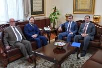 CAMİ İNŞAATI - Başkan Yemenici, Diyanet İşleri Başkanını Ziyaret Etti