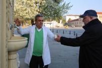 Belediyeden Vatandaşlara Çorba İkramı