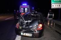 KURUÇAY - Bolu'da Zincirleme Trafik Kazası Açıklaması 7 Yaralı
