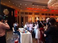 EBRU SANATı - Ebru sanatı Çin'de tanıtıldı