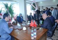 Erzurum Milletvekillerinden PTSO'ya Ziyaret
