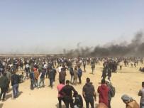 GÖZ YAŞARTICI GAZ - Gazze'de Gerginlik Açıklaması 113 Yaralı