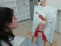 Gercüş'te Resim Ve Ebru Kursu Açıldı