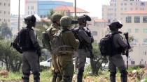 GÖZ YAŞARTICI GAZ - İsrail Askerlerinden Batı Şeria'daki Gösterilere Müdahale