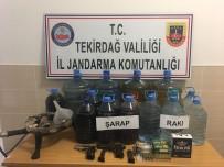 KAÇAK ŞARAP - Jandarmadan Kaçak İçki Operasyonu