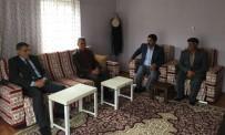 Kaymakam Özkan'dan Yaralı Askere Ziyaret