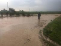 Kızıltepe'de Yağmur Köyü Göle Çevirdi