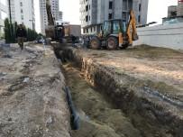 MESKİ'nin Tarsus'taki Kanalizasyon Çalışmaları Sürüyor