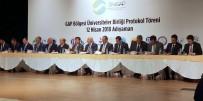 Rektörü Karacoşkun ÜNİGAP Protokol Törenine Katıldı