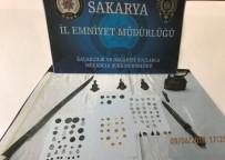 Sakarya'da 104 Parça Tarihi Eser Ele Geçirildi