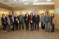 Trabzon Ticaret Borsası'nı Ziyaret Ettiler