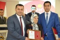 GAZİ YAKINLARI - TSK'ya Destek Verenler Madalya Ve Beratla Onurlandırıldı