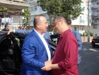 İBRAHIM AYDıN - Bakan Çavuşoğlu'ndan, Cumhurbaşkanı Erdoğan'ın Avukatı Ahmet Özel Ve Ailesine Taziye Ziyareti