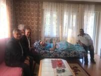 Başkan Yaman'dan Hasta Ziyareti