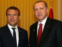 Cumhurbaşkanı Erdoğan, Macron'la telefonda Ggörüştü