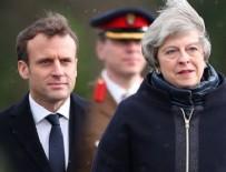 Macron ve May'dan Suriye açıklaması