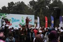 ŞARKICI - Öğrenciler 2 Bin 500 Fidanı Arnavutköy'de Toprakla Buluşturdu