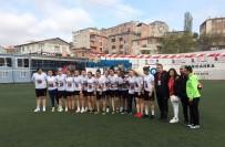 İLHAMI YıLMAZ - Şampiyon Ataşehir Belediyespor Kupasını Kavuştu