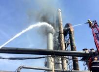 KAZAN DAİRESİ - Sunta Fabrikasında Korkutan Yangın