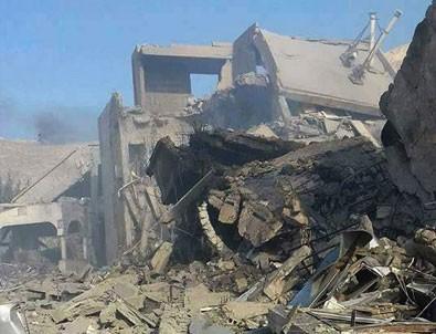 Vurulan kimyasal tesis görüntülendi