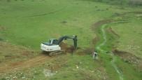 ALT YAPI ÇALIŞMASI - Yolalan'da Alt Yapı Çalışmaları Başlatıldı