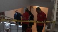 GÜVENLİK GÖREVLİSİ - Aksaray'da Bir Kişi Apartman Boşluğunda Ölü Bulundu