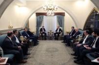 HAKAN ÇAVUŞOĞLU - Başbakan Yardımcısı Çavuşoğlu, KKTC Cumhurbaşkanı Akıncı İle Görüştü
