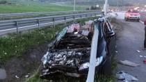 GÜLHANE - Başkentte Trafik Kazası Açıklaması 1 Yaralı