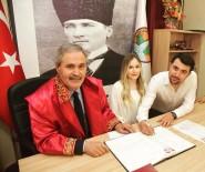 SOĞUKPıNAR - Belediye Başkanı Baba Oğlunun Nikahını Kıydı