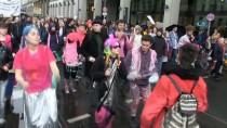 BRANDENBURG - Berlin'de Artan Kiralara Karşı Protesto Gösterisi