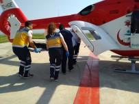 İSTANBUL KARTAL - Çakmakla Arabayı Yakan Çocuk Ağır Yaralandı