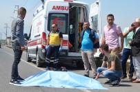 Karşıdan Karşıya Geçerken Otomobilin Çarptığı Yaşlı Kadın Öldü