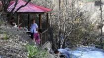 'Kırk Gözeli' Şelale Ziyaretçilerini Büyülüyor