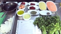 Litvanyalı Aşçı Antep Yemeklerini Öğrendi