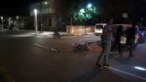 Motosikletle Otomobilin Çarpışma Anı Güvenlik Kamerasında