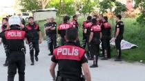 Otomobille Polis Motosikletine Çarpıp Kaçan Zanlılar Vurularak Yakalandı