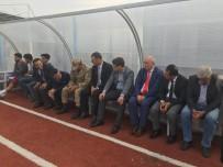 Protokol, Zeytin Dalı Turnuvası'nın İlk Maçını Yedek Kulübesinde İzledi