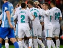 MALAGA - Real Madrid deplasmanda kazandı