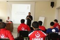 GÜMÜŞKAYA - Rize'de UMKE Personeline 'Oryantiring, Harita Ve Pusula Kullanımı' Eğitimi