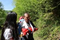 HARMANKAYA - Şelale Gezintisi Kazayla Bitti