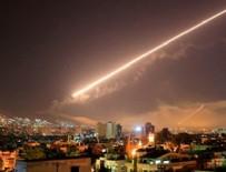 PENTAGON - Suriye'de ABD füzelerinin havada imha edilme anları