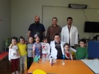 Anaokulu Öğrencileri Bilimle Ve Ebru Sanatıyla Tanıştı