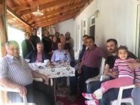 Başkan Yaman Umreye Gidecek Olan Vatandaşı Ziyaret Etti