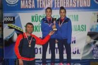 HİDAYET TÜRKOĞLU - Belediye Masa Tenisi Takımı Türkiye Üçüncüsü Oldu